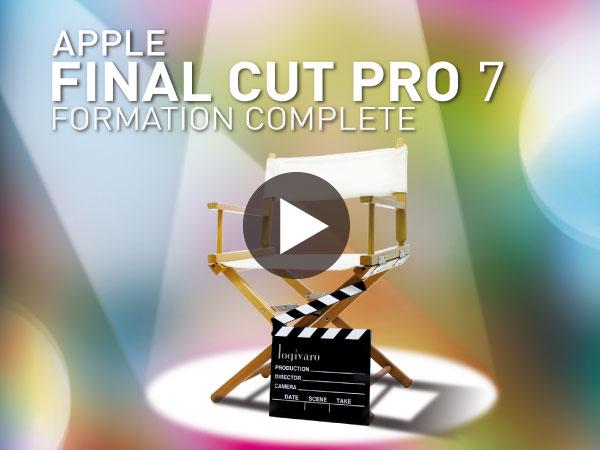Tutoriel Apple Final Cut Pro 7