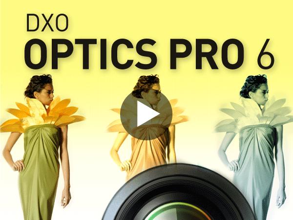 Tutoriel DxO Optics Pro 6