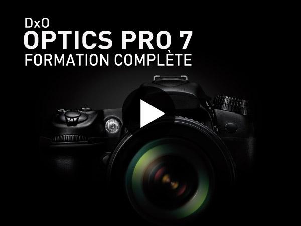 Tutoriel DxO Optics Pro 7