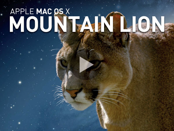 Tutoriel Apple Mac OS X Mountain Lion