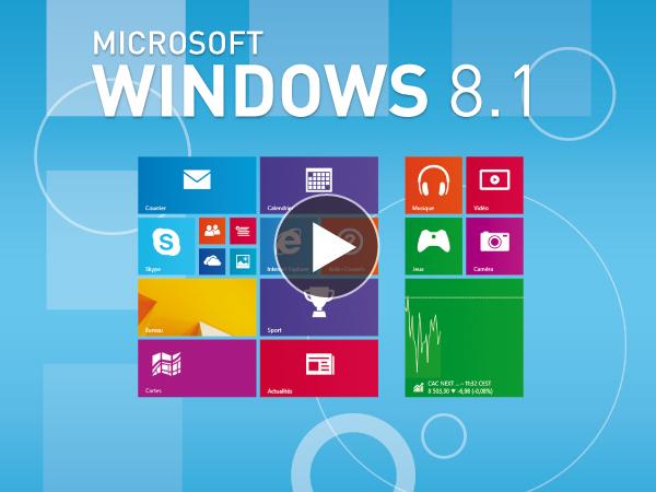 Tutoriel Microsoft Windows 8.1 : Nouveautés